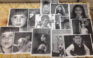 ANW's All My Sons family portraits.
